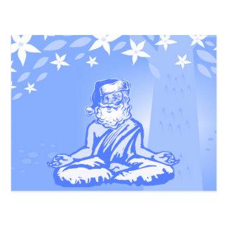 Buddhistische Sankt-Weihnachtskarte Postkarten