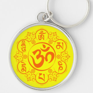 Buddhistische Summen-Beschwörungsformel OM Mani Schlüsselanhänger