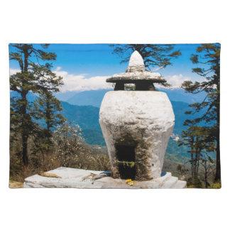 Buddhistischer Anbetungs-Standort Tischset