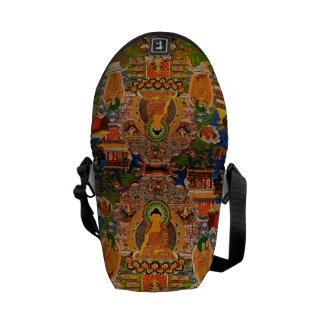 Buddhistischer Buddhismus Buddhas, der Boho Böhmen Kuriertasche