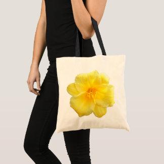 Budget-Tasche - gelbe Taglilie Tragetasche