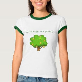 Budgie in einem Birnen-Baum T-Shirt