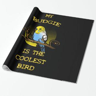 Budgie ist der coolste Vogel Geschenkpapier