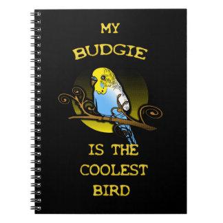 Budgie ist der coolste Vogel Notizblock