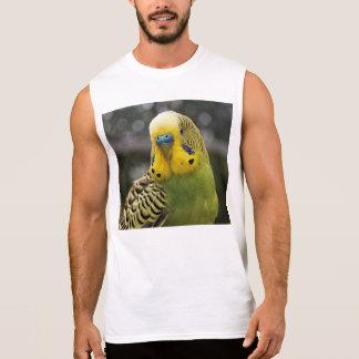Budgie Vogel Ärmelloses Shirt