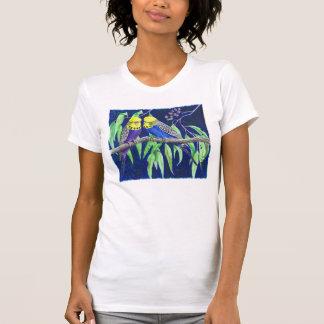 Budgies T-Shirt durch Lynne Freeman