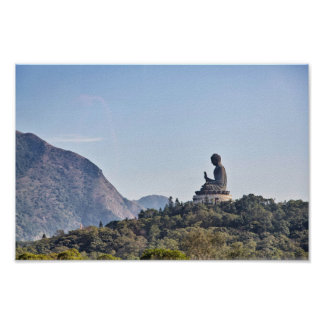 Budha - Hong Kong Poster