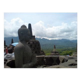 Budha Statue Postkarte