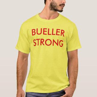 Bueller stark, das t der Männer, Gelb und Rot T-Shirt