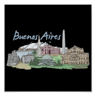 Buenos Aires - Argentina.png Poster