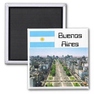Buenos Aires Quadratischer Magnet