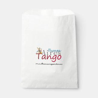 Buenos- AiresTango hergestellt in Argentinien Geschenktütchen