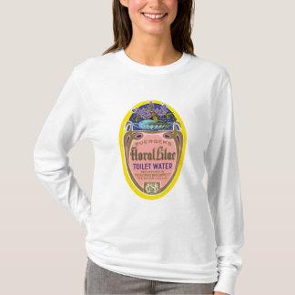 Buergers lila Toiletten-mit Blumenwasser T-Shirt