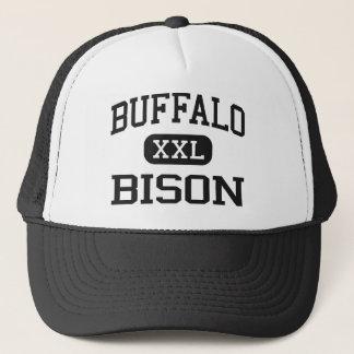 Büffel - Bison - Highschool - Büffel Wyoming Truckerkappe