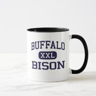 Büffel - Bison - hoch - Büffel West Virginia Tasse