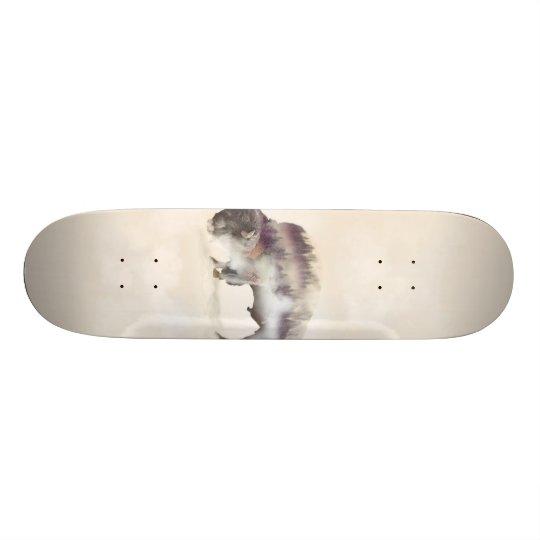 Büffel-doppelte Belichtung-amerikanische Bedruckte Skateboarddecks