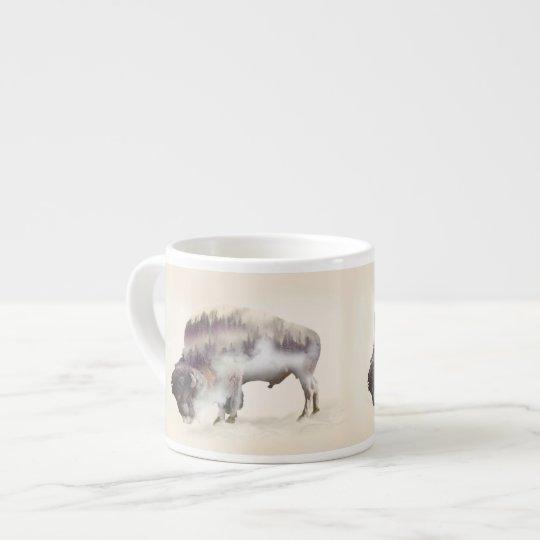 Büffel-doppelte Belichtung-amerikanische Espresso-Tassen