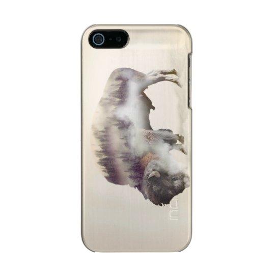 Büffel-doppelte Belichtung-amerikanische Incipio Feather® Shine iPhone 5 Hülle
