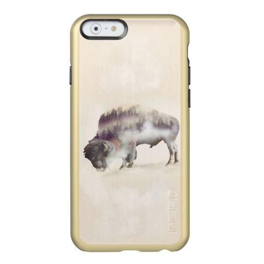 Büffel-doppelte Belichtung-amerikanische Incipio Feather® Shine iPhone 6 Hülle