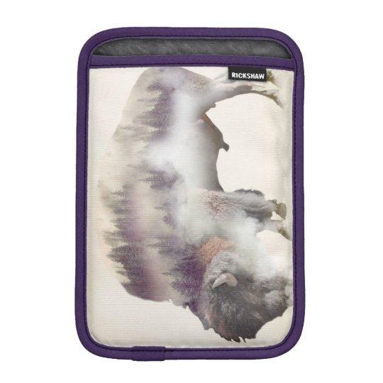 Büffel-doppelte Belichtung-amerikanische iPad Mini Sleeve