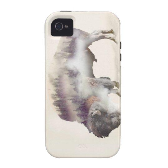 Büffel-doppelte Belichtung-amerikanische iPhone 4 Hülle