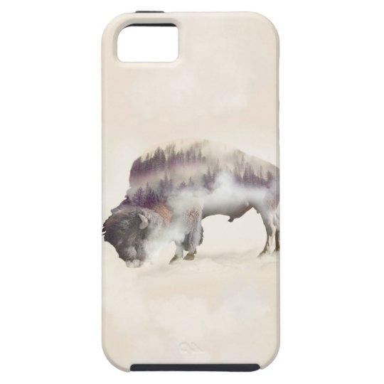 Büffel-doppelte Belichtung-amerikanische iPhone 5 Schutzhülle