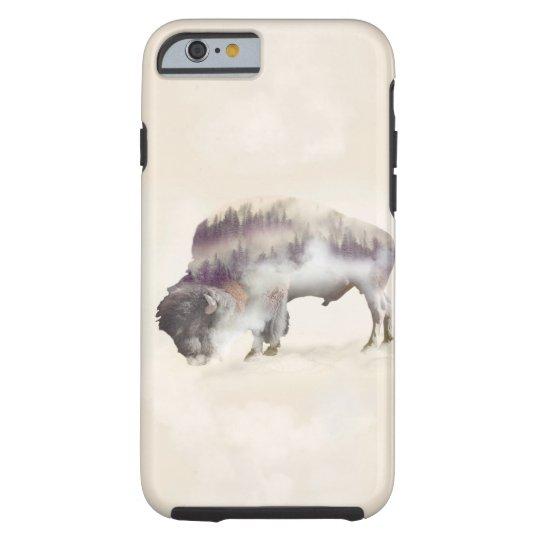 Büffel-doppelte Belichtung-amerikanische Tough iPhone 6 Hülle