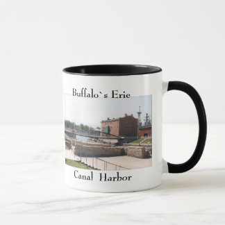 Büffel-Erie-Kanal-Hafen-Tasse Tasse