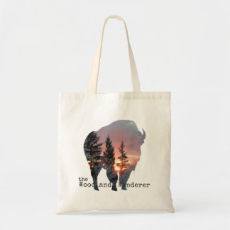 Büffel-hölzerner Bison-natürliche Taschen-Tasche Tragetasche