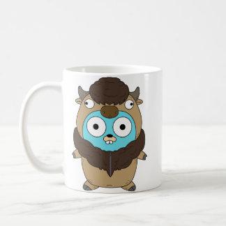 Büffel-Kaffee-Tasse Kaffeetasse