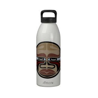 Büffel-Maske - Aluminiumwasser-Flasche - gebürtige Trinkflaschen