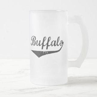 Büffel Mattglas Bierglas