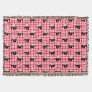 Büffel-Picknick-Party Decke
