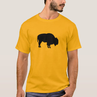 Büffel-Silhouette T-Shirt