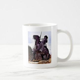 Büffel-Soldat-Monument Kaffeetasse