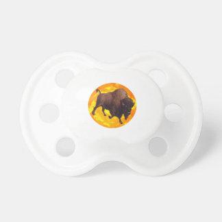 Büffel-Steigen Schnuller