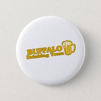 Büffel-trinkende Teamt-shirts Runder Button 5,7 Cm