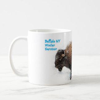"""Büffel-Winter-Überlebend-Schale "" Kaffeetasse"