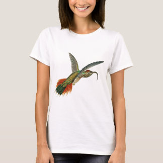 Büffelleder-angebundenes Sicklebill T-Shirt