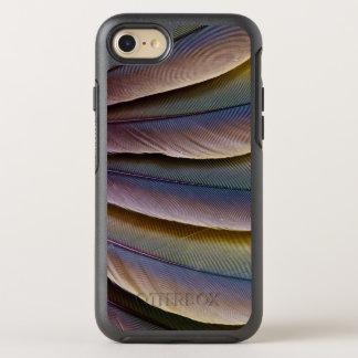 Buffon Macaw-Feder-Entwurf OtterBox Symmetry iPhone 8/7 Hülle
