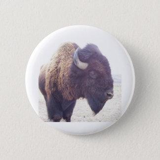 buffy der Büffel Runder Button 5,7 Cm