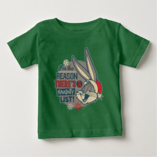 BUGS BUNNY ™ - der Grund dort ist eine freche Baby T-shirt