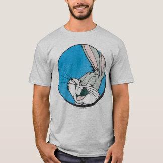 BUGS BUNNY ™ Retro blauer Flecken T-Shirt