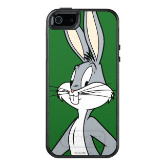 BUGS BUNNY ™ stehendes schiefwinkliges OtterBox iPhone 5/5s/SE Hülle