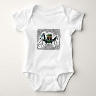 Bugzter - glückliche haarige Spinne Baby Strampler