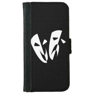 Bühne-Masken Geldbeutel Hülle Für Das iPhone 6/6s