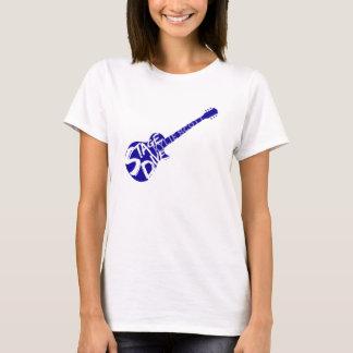 Bühne-Tauchen - Kylie Scott - blaue Gitarre T-Shirt