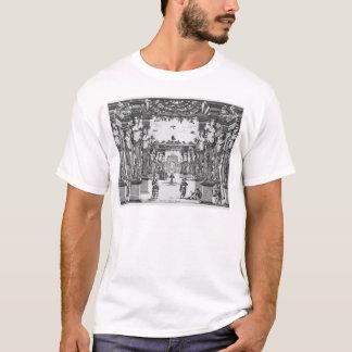 Bühneentwurf durch Giacomo Torelli für 'Mirame T-Shirt