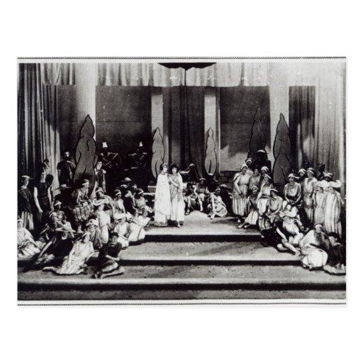 "Bühnepremiere in England ""Semele "" Postkarte"
