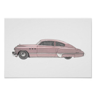Buick 1949 Dynaflow Poster